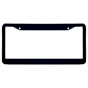 Custom Accessories Chrome Style Holder, Cover 92503 Durable ABS Plastic License Plate Frame